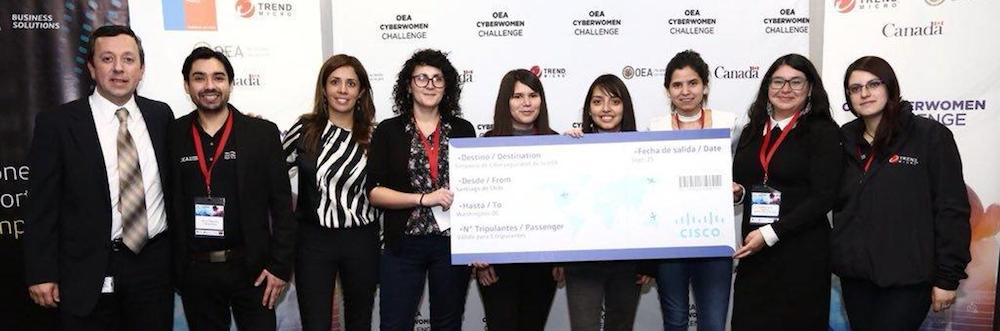 Ex alumnas de Ingeniería Civil Telemática ganan importante premio en ciberseguridad